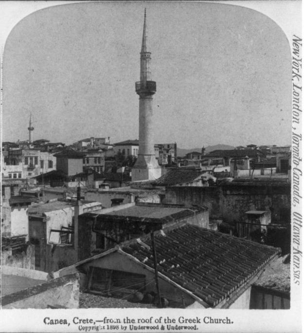 Άποψη από την ταράτσα της Ελληνικής Εκκλησίας