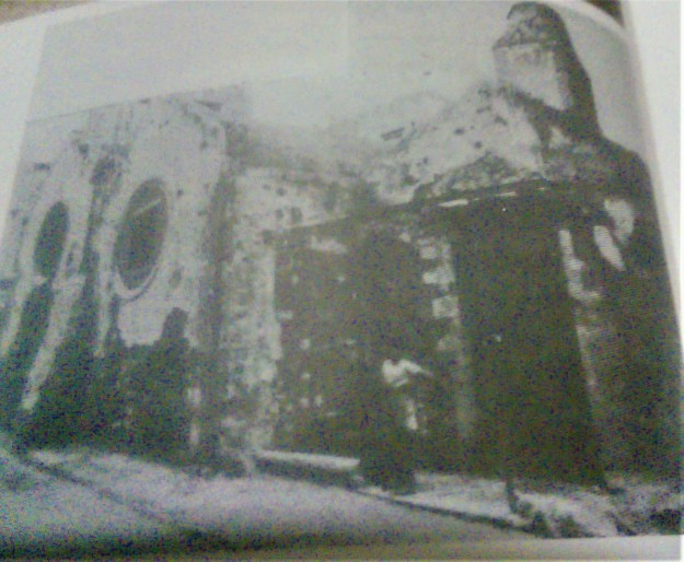 Σπάνια φωτό του τζαμιού από Αθηναίο περιηγητήαπό την πλευρά της σημερινής οδού Χρύσανθου Επισκόπου
